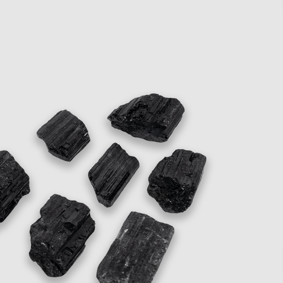 Black Tourmaline Small Cluster