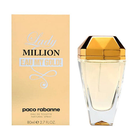 Lady Million Eau My Gold by Paco Rabanne for Women