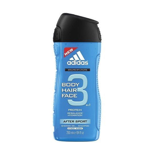 After Sport Body Hair Face by Adidas for Men