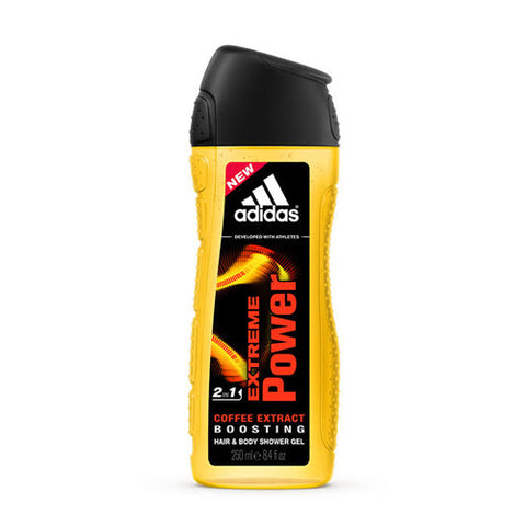 Extreme Power Hair & Body Shower Gel by Adidas for Men