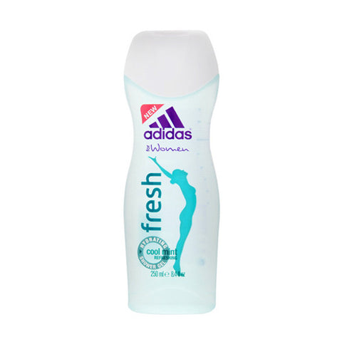 Fresh Cool Mint Refreshing Shower Gel by Adidas for Women