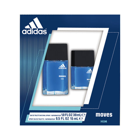 Moves Him by Adidas for Men | Gift Set