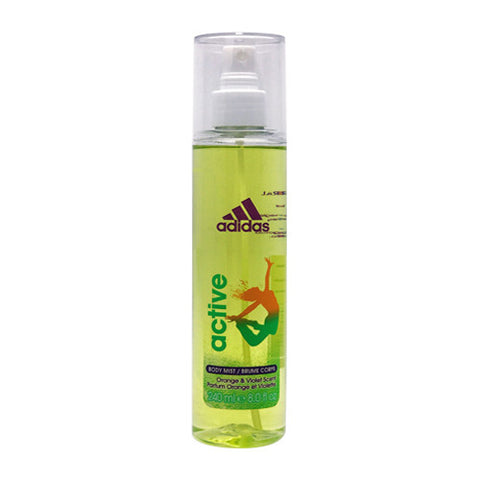 Active Body Mist Orange & Violet Scent by Adidas for Women