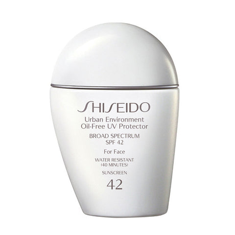 Shiseido Urban Environment Oil-Free UV Protector For Face Broad Spectrum SPF 42