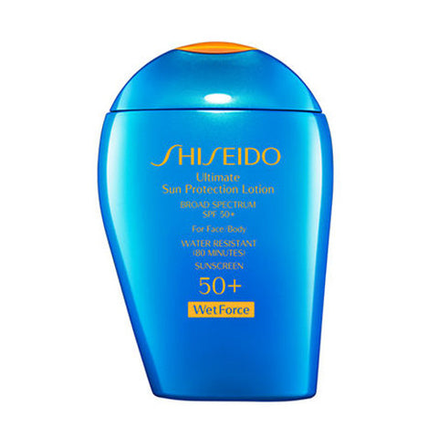 Shiseido Ultimate Sun Protection Lotion WetForce Broad Spectrum SPF 50+