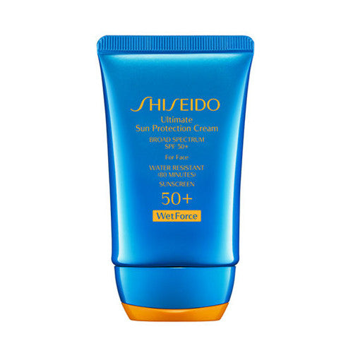 Shiseido Ultimate Sun Protection Cream WetForce Broad Spectrum SPF 50+