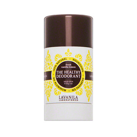 Fresh Vanilla Lemon Deodorant by LAVANILA for Unisex