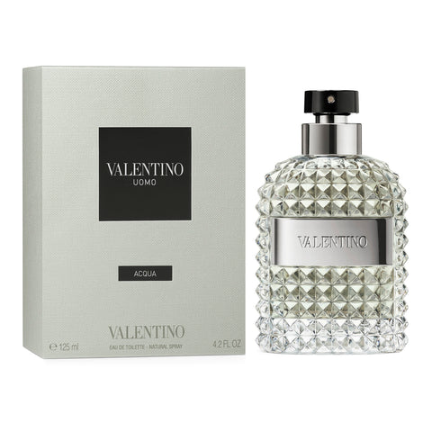 Valentino Uomo Acqua For Men Eau de Toilette Spray 4.2 oz