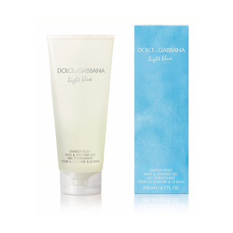 Dolce & Gabbana Light Blue For Women Bath & Showerl Gel 6.7 oz
