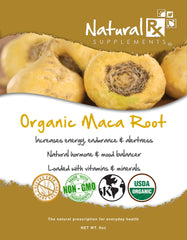 Organic Maca Root - Natural Rx Supplements - 1