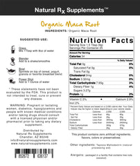 Organic Maca Root - Natural Rx Supplements - 2