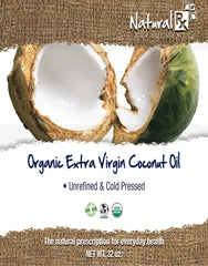 Organic Coconut Oil front label - USDA Organic, Non-Gmo, Hexane Free, Raw, Natural, Pure un-refined