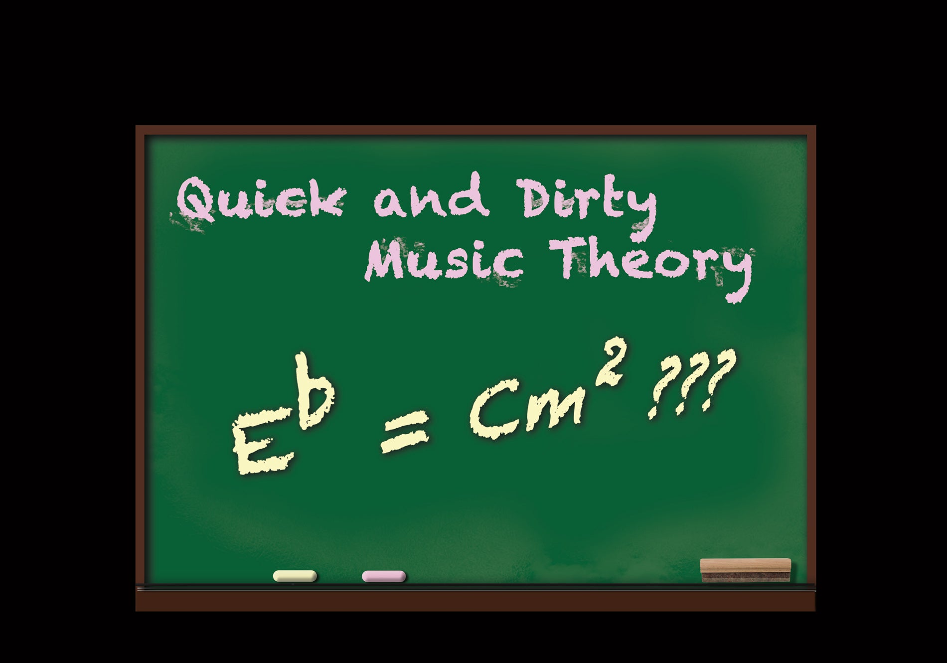 Quick and Dirty Music Theory
