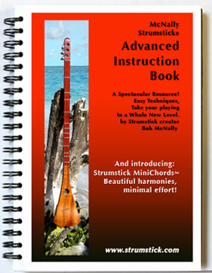 Strumstick Advanced Instruction Book cover