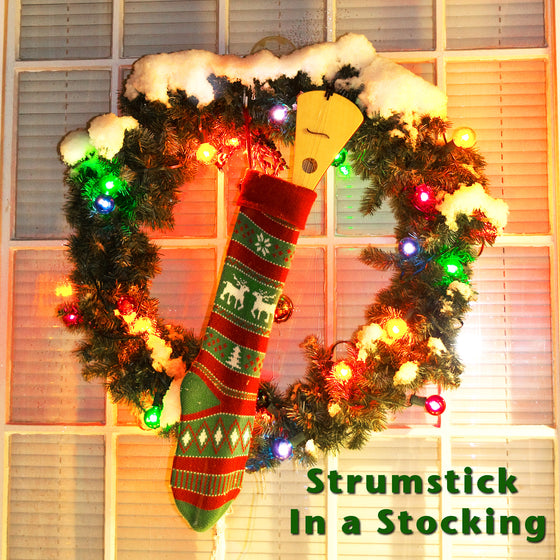 Strumstick in Stocking