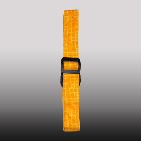 Yellow Grid Strap