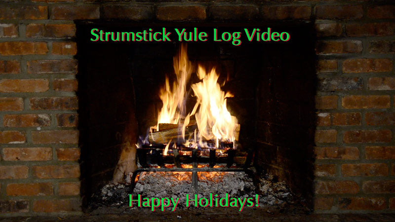 Strumstick Yule Log $18