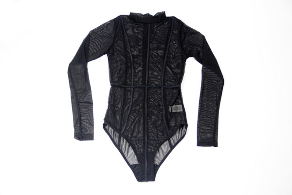 """Mesh Playsuit"""
