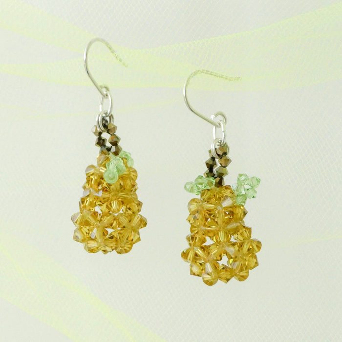 Crystal Jelli's Pear Earrings