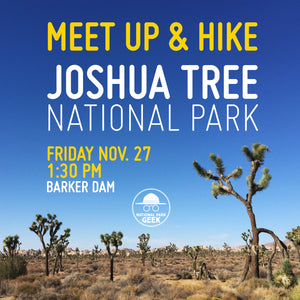 Joshua Tree Meet Up and Hike