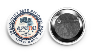Apollo 11 Tranquility Base NP Sticker & Button Set *Special Edition* (includes shipping)