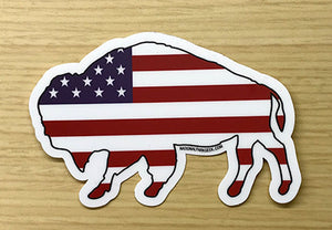Bison Sticker (includes shipping)