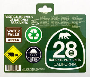 California Roadsigns Sticker (includes shipping)