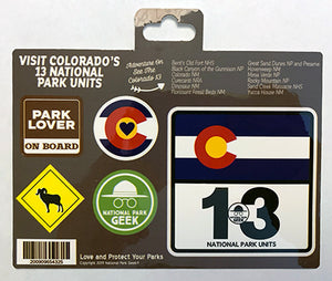 Colorado Roadsigns Sticker (includes shipping)