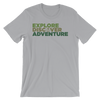 Explore, Discover, Adventure T-Shirt - Various Colors