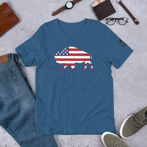 Bison Flag T-Shirt