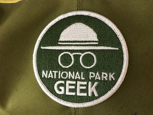 National Park Geek Patch (Set of 2) (includes shipping)