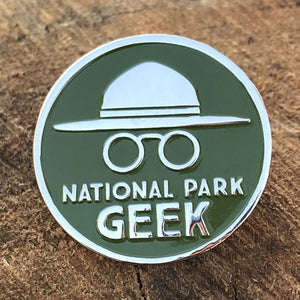 National Park Geek Pin (includes US shipping)