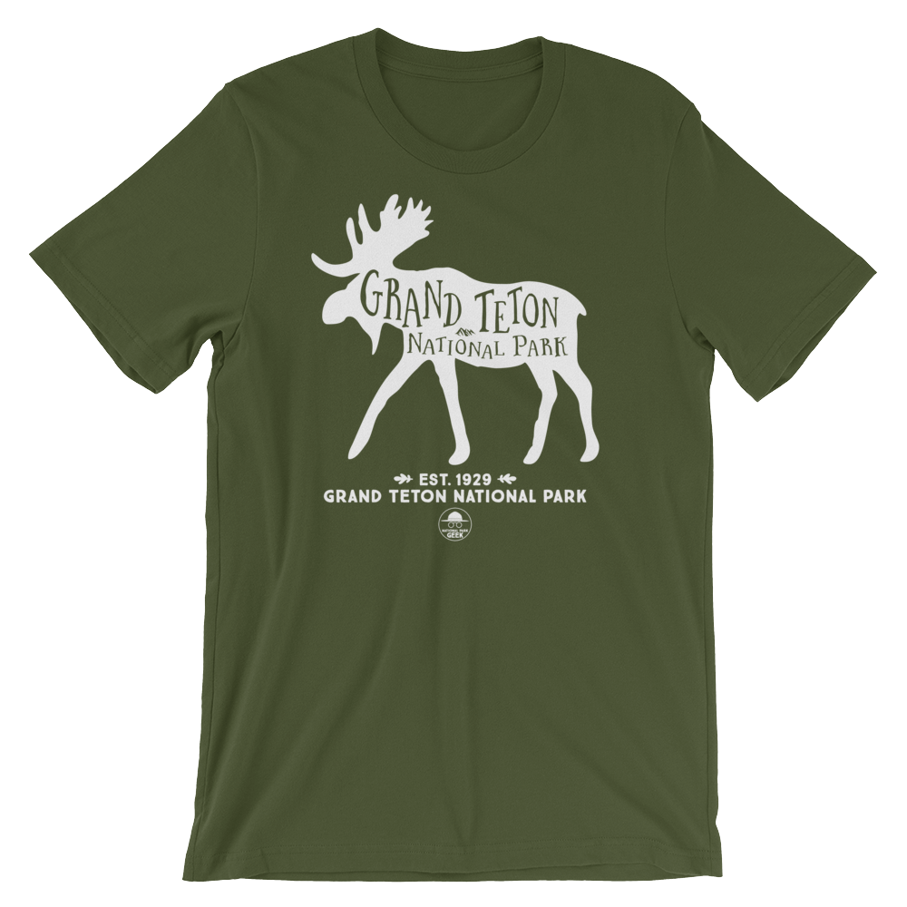 682a72cf953 Grand Teton National Park Geek T-Shirt