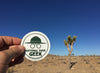 National Park Geek Logo Stickers (3 Pack) (includes shipping)