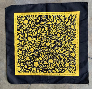 Bandana Black (includes US shipping)