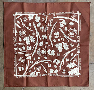 Bandana Brown (includes US shipping)