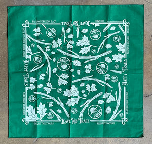Bandana Green (includes US shipping)