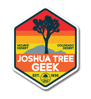 Joshua Tree Geek Sticker (includes shipping)