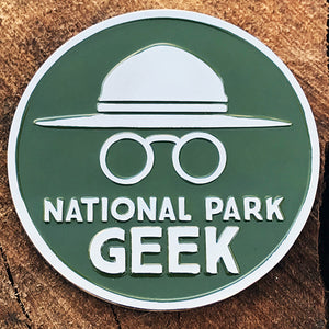 National Park Geek Magnet (includes US shipping)