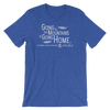 Going To The Mountains T-Shirt - White Logo - Various Colors