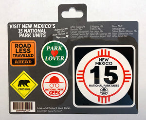 New Mexico Roadsigns Sticker (includes shipping)