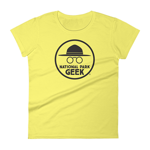 A National Park Geek Woman's T-Shirt