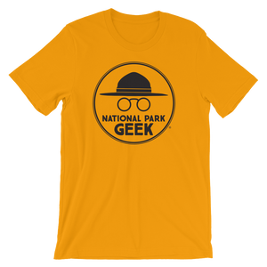 A National Park Geek T-Shirt - Black Logo