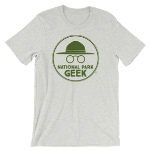 A National Park Geek T-Shirt - Green Logo
