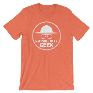 A National Park Geek T-Shirt - White Logo