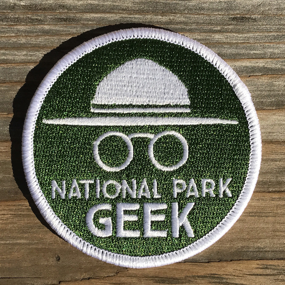 National Park Geek Patch Includes Shipping