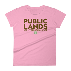 Public Lands Are My Personal Space - Women