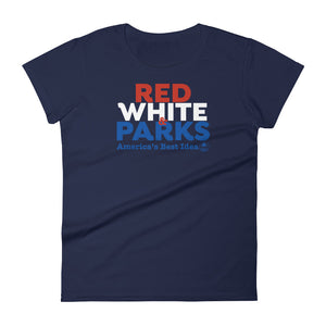 Red, White & Parks Woman's T-Shirt