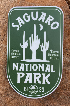 Saguaro National Park Sticker (includes shipping)