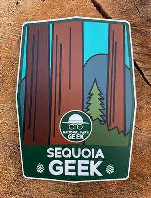 Sequoia Geek Sticker (includes shipping)